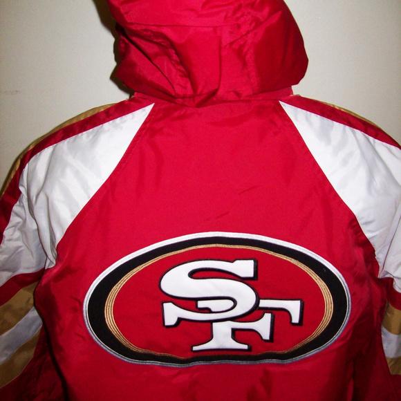 b6387f37 SAN FRANCISCO 49ERS STARTER Pro Line Winter Jacket Boutique
